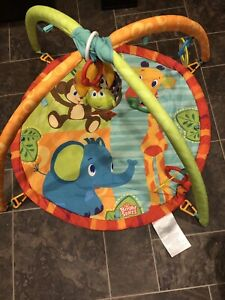 Two tummy time play mats $5 for both