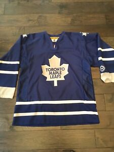 Official License Maple Leaf jersey