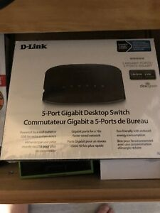 5 port gigabit desktop switch