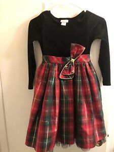 Girls Christmas Dress Size 8