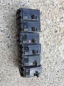 Square D electrical breakers