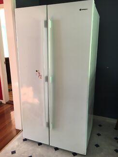 Westinghouse double door fridge