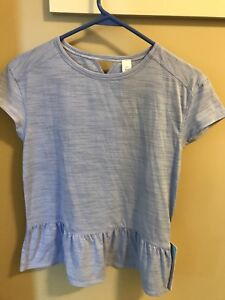 BNWT Ivivva shirts size 14- in lavender blue and mint green