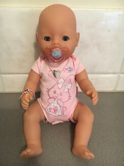 "Authentic ""Baby Born"" Doll for Sale"