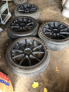 """21"""" infinity QX70 niche rims with 265-45-21 tires"""