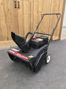 MTD yard machines 4 cycle snowblower with electric start