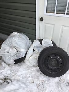 185 65 15 winter tires and rims