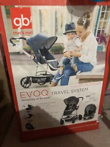 Gb Evoque Stroller and car seat