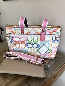 Coach Large Baby Bag / Tote NWT