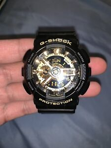 Casio G-Shock Protection (Black Gold)