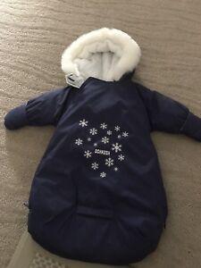 Oshkosh infant snowsuit hooded