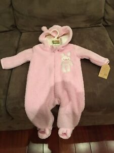 Girl's Infant Snowsuit. Size 3-6 months. BRAND NEW