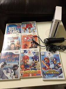 Wii and game lot