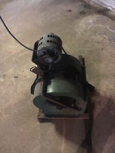 Furnace fan and blower