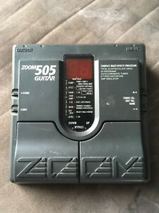 Zoom 505 multi effects