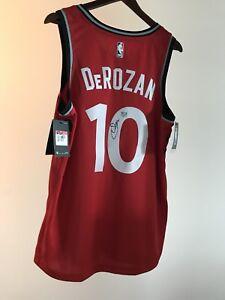 Autographed Demar DeRozan Raptors Jersey