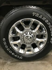 Firestone transforce tires. LT 285/60/20