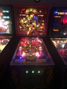 Viking pinball machine