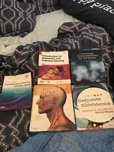First year Practical Nursing books!