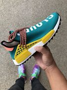 NEW Adidas NMD HU Human Race Sun Glow Teal CLOUDS MOON US9.5 Spotswood Hobsons Bay Area Preview