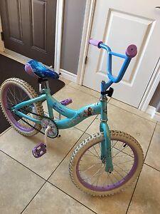 Girl's Frozen Bike