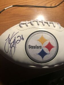 Le'Veon Bell Signed Autographed Football steelers