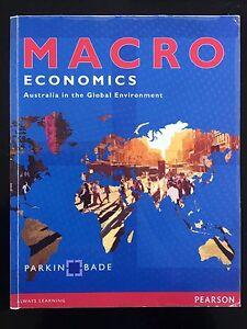 Macro Economics Text Book North Tivoli Ipswich City Preview
