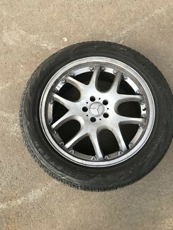 Mercedes amg wheels Sandgate Newcastle Area Preview