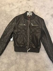 Leather jacket Marciano