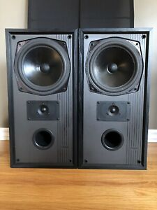 Refoamed 1989 MISSION 762 England Made Large Bookshelf Speakers​