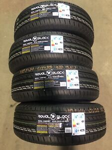 NEW 4 215/60/R16 or 4 205/65/r16 SUMMER TIRES 350$/set