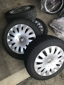 205/55/16 winter wheels - Pirelli tires- VW