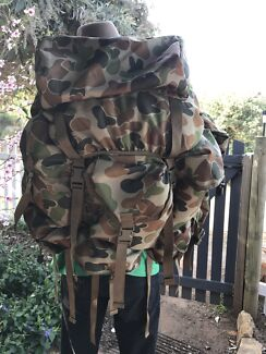 T.A.S XL Alice pack with frame and straps ( auscam )