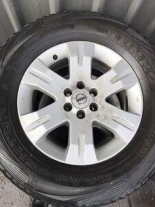 2 sets of Tyres & Rims Hilux Navara Hamilton Newcastle Area Preview