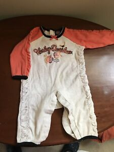 One piece Harley Davidson outfit
