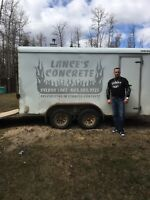 Lances concrete 27years exp quality that won't be beat