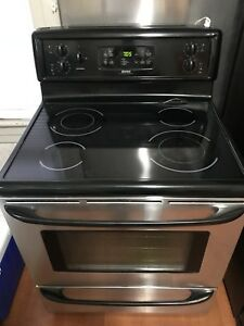 Kenmore Stainless Steel Glass Top Convection Range (Stove)