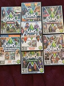 SIMS 3 + expansion packs