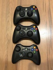 Manettes sans fil Xbox 360