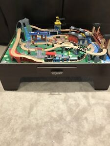 Imaginarium Mountain Rock Train Table Set