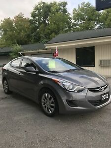 2012 Hyundai Elantra Manual PRE-CERTIFIED!