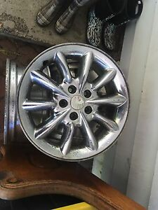 4 used chrome rims for sale