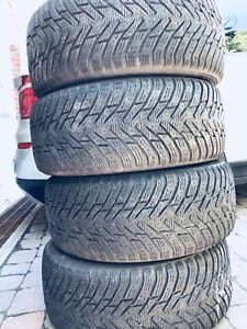 Run Flat tire pneu winter bmw Nokian 245 50 R18