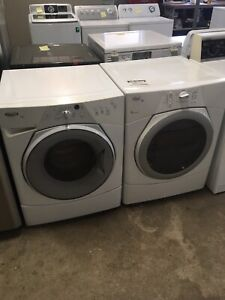 Whirlpool front load washer dryer set