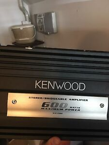 Kenwood 600 watt amp