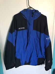 Men's XL Columbia Coat  with removable fleece liner