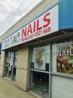 Nails Technicians Wanted.