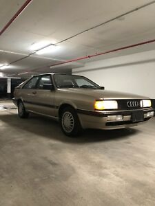1986 Audi Coupe GT (MUST GO)