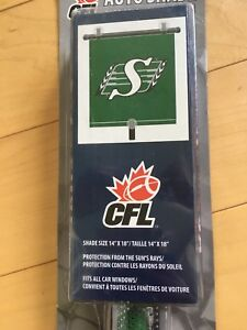 Saskatchewan Roughriders Auto Window Shade