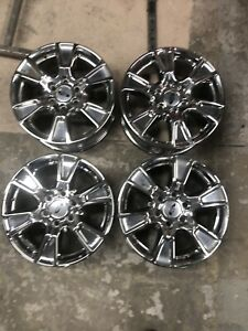 "18"" factory ford chrome wheels"